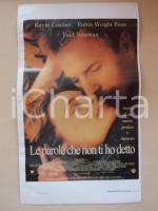 1999 LE PAROLE CHE NON TI HO DETTO Kevin COSTNER Paul NEWMAN *Locandina 33x55