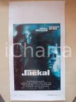 1997 THE JACKAL Bruce WILLIS Richard GERE Michael CATON-JONES *Locandina 33x55