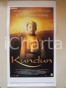 1997 KUNDUN Dalai Lama Regia di Martin SCORSESE *Locandina 33x55