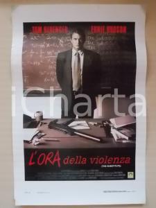 1996 L'ORA DELLA VIOLENZA Tom BERENGER Ernie HUDSON Luis GUZMAN *Locandina 33x55