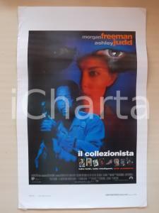 1997 IL COLLEZIONISTA Morgan FREEMAN Ashley JUDD Cary ELWES *Locandina 33x55