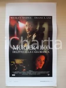 1997 MURDER AT 1600 Delitto alla CASA BIANCA Wesley SNIPES *Locandina 33x55