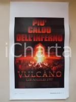 1997 VULCANO - LOS ANGELES 1997 Tommy Lee JONES Anne HECHE *Locandina 33x55