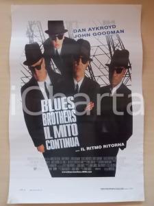 1998 BLUES BROTHERS - IL MITO CONTINUA Dan AYKROYD *Locandina 33x55