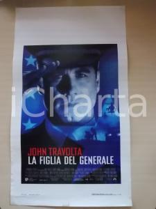 1999 LA FIGLIA DEL GENERALE John TRAVOLTA Madeleine STOWE *Locandina 33x60