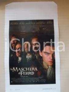 1998 MASCHERA DI FERRO Leonardo DI CAPRIO Jeremy IRONS *Locandina 33x57
