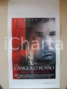 1997 L'ANGOLO ROSSO Richard GERE Bai LING Regia Jon AVNET *Locandina 33x60