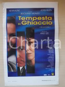 1997 TEMPESTA DI GHIACCIO Kevin KLINE Sigourney WEAVER Joan ALLEN *Locandina