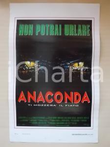1997 ANACONDA Jennifer LOPEZ Ice CUBE Jon VOIGHT Eric STOLTZ *Locandina 33x50