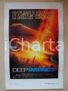 1998 DEEP IMPACT Robert DUVALL Téa LEONI Eijah WOOD *Locandina 33x60
