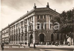 1952 CATANIA Palazzo delle Poste *Cartolina ANIMATA FG VG
