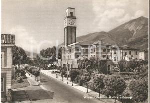 1955 ca MASSA (MS) Palazzo delle Poste e Telegrafi *Cartolina FG NV