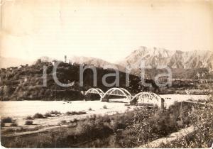 1956 COLLE DI CAVASSO NUOVO (UD) POnte sul MEDUNA *Cartolina FG VG