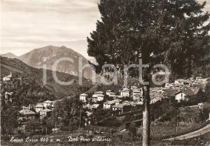 1952 ESINO LARIO (LC) Panorama con pino solitario *Cartolina FG VG