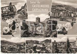 1957 CASTELNUOVO GARFAGNANA (LU) Vedutine del paese *Cartolina FG VG