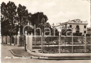 1952 ABANO TERME (PD) Terme HELVETIA già Sorelle MIONI *Cartolina FG VG
