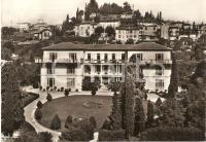 1961 BERGAMO Istituto ortopedico Matteo ROTA *Cartolina DANNEGGIATA FG VG