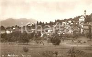 1943 MARCHIROLO (VA) Panorama del paese *Cartolina FP VG