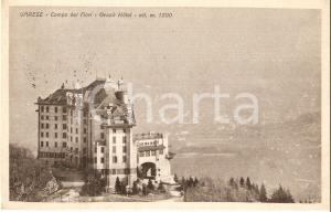 1933 VARESE Grand Hotel CAMPO DEI FIORI *Cartolina FG VG
