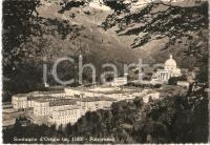 1960 SANTUARIO DI OROPA (BI) Panorama con Basilica *Cartolina FG NV