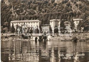 1960 OLIVETO LARIO (LC) Villa RESNATI in frazione LIMONTA *Cartolina FG VG