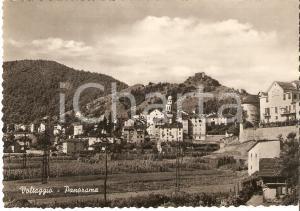 1955 ca VOLTAGGIO (AL) Panorama del paese *Cartolina FG VG