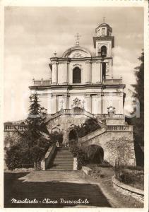 1954 MARCHIROLO (VA) Veduta della Chiesa Parrocchiale *Cartolina FG VG