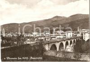 1969 DRONERO (CN) Ponte sul torrente MAIRA *Cartolina FG VG