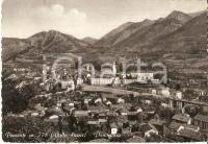 1955 ca DEMONTE (CN) Panorama del paese *Cartolina FG VG