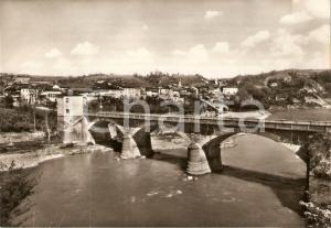 1960 ca FARIGLIANO (CN) Panorama con Ponte sul TANARO *Cartolina FG NV
