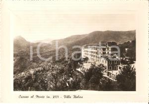 1951 CUASSO AL MONTE (VA) Panorama con Villa HELIOS *Cartolina FG VG