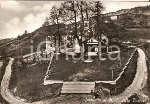 1955 ca BUSALLA (GE) Santuario Nostra Signora della BASTIA *Cartolina FG VG