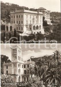 1959 BORDIGHERA Villa ETELINDA Casa di riposo Margherita di SAVOIA *Cartolina FG
