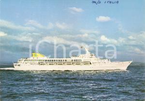 1975 ca COSTA LINE Motonave M/S ITALIA *Cartolina FG NV