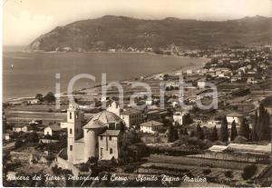 1955 ca CERVO (IM) Panorama con DIANO MARINA *Cartolina FG VG