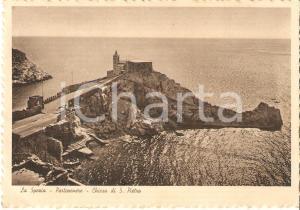 1939 PORTOVENERE (SP) Chiesa di SAN PIETRO *Cartolina FG VG