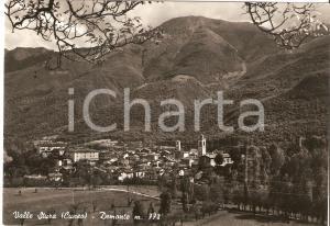 1956 DEMONTE (CN) Panorama del paese VALLE STURA *Cartolina FG VG
