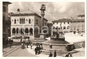 1955 ca UDINE PIazza CONTARENA Loggia LIONELLO *Cartolina FG VG