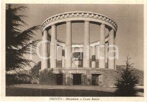 1950 ca TRENTO Monumento a Cesare BATTISTI *Cartolina FG NV