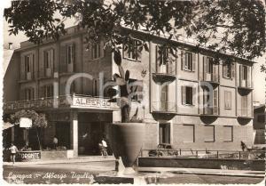1955 ca LAVAGNA (GE) Cactus gigante davanti all'Albergo TIGULLIO Cartolina FG NV