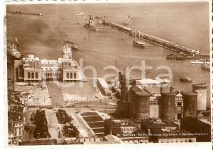 1949 NAPOLI Nuova stazione marittima e Maschio Angioino *Cartolina FG VG