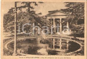 1949 RIOLO TERME (RA) Padiglione per la cura dell'asma *Cartolina FG VG