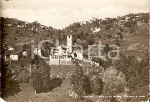 1941 CRISSOLO (CN) Frazione SERRE e BORGO *Cartolina FG VG