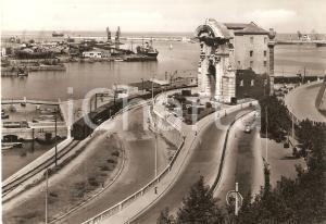 1953 ANCONA Porta Pia e panorama del porto *Cartolina FG VG