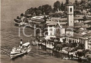 1955 ca TORNO (CO) Battello sul LAGO DI COMO *Cartolina FG NV