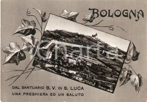 1955 ca BOLOGNA Santuario Beata Vergine di SAN LUCA *Cartolina FG NV