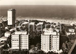1963 MILANO MARITTIMA (RA) La meravigliosa pineta *Cartolina FG VG