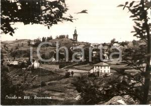 1962 CANALE (CN) Panorama del paese con il campanile *Cartolina FG VG