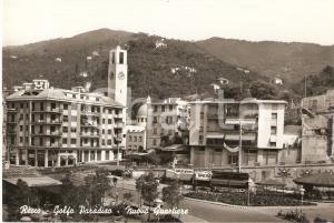 1955 ca RECCO (GE) Panorama del nuovo quartiere - GOLFO PARADISO Cartolina FG NV