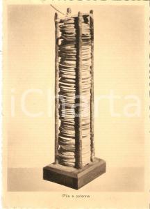 1950 ca COMO Tempio Voltiano - Pila a colonna *Cartolina FG NV